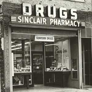 Sinclair Pharmacy 1960